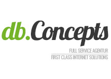 db.Concepts e.K. // first class internet solutions // full service agentur