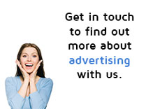 Get in touch to find out more about advertising with us.