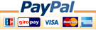 Pay with PayPal - fast, easy and secure!