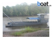 Del Marine Construction Barge