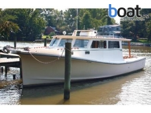 Marine C M Custom Downeast SportfishCruiser