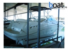Sea Ray 260 Sundancer Freshwater Covered Slip