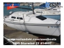 boat for sale |   Starwind 22